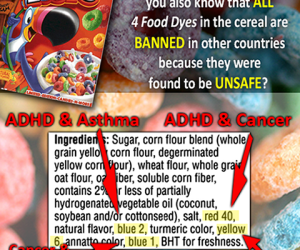 Food Dyes & Additives Proven Unsafe!