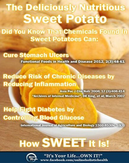 Sweet Potato and Cancer
