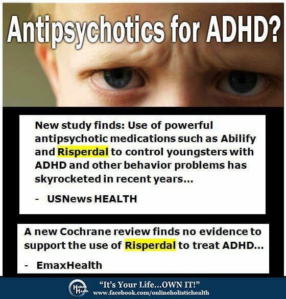 Antipsychotics for ADHD?