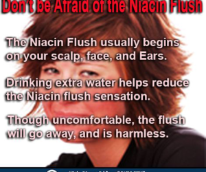 Don't be Afraid of the Niacin Flush