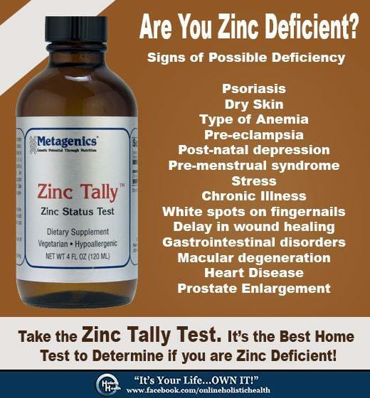 are you zinc deficient