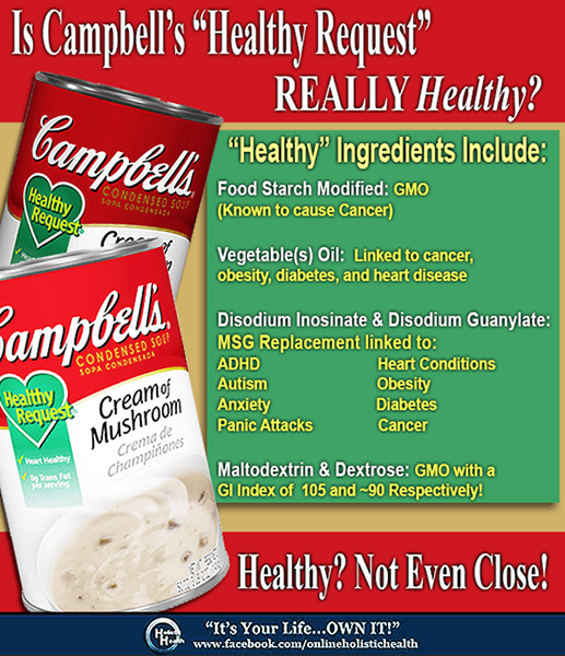 Is Campbell's Healthy Request Soup Really Healthy