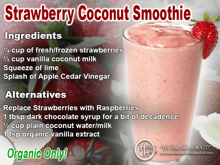 Strawberry-Coconut-Smoothie