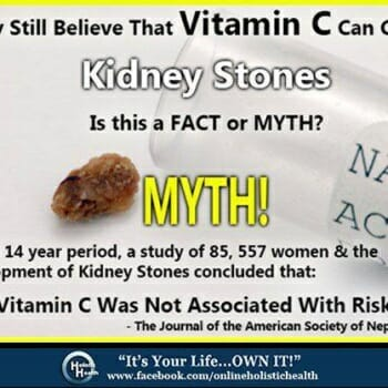 Vitamin C and Kidney Stones?