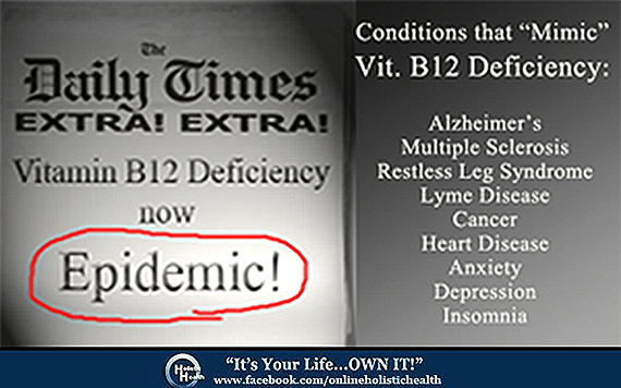 Vitamin B12 Deficiency Prevalent in the US