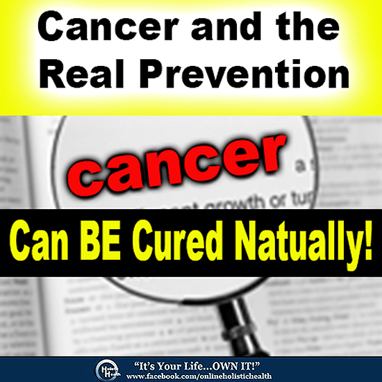 cancer and the real prevention
