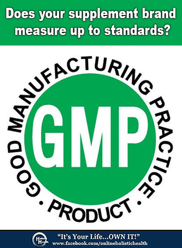 GMP Certified Supplement Companies