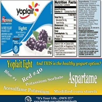 "Yoplait Light: The ""Healthy"" Choice?"