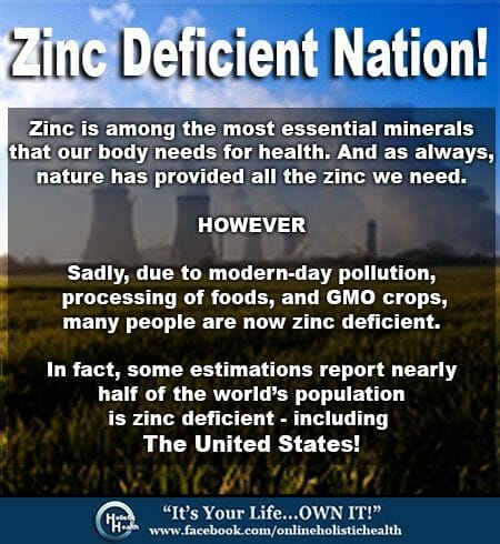 Zinc Deficient Nation