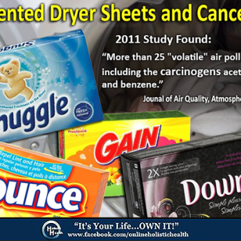Scented Dryer Sheets Toxic For Your Health!