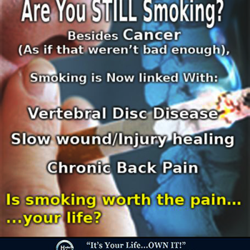 Smoking Linked to Poor Spine Health