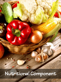 nutritional component of the triad of life