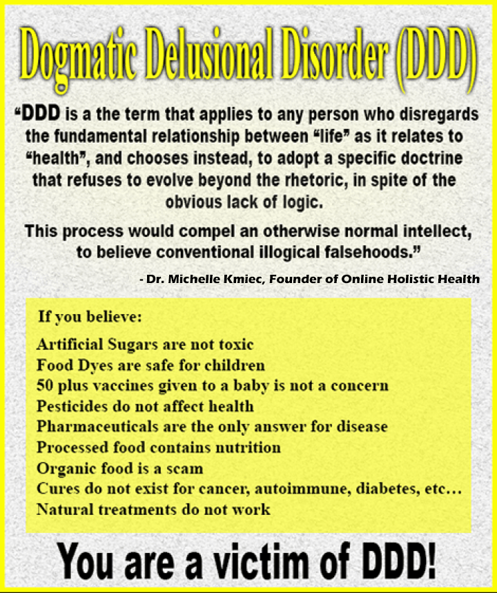 Dogma and healthcare online holistic health