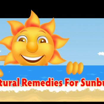 Natural Remedies For Sunburns