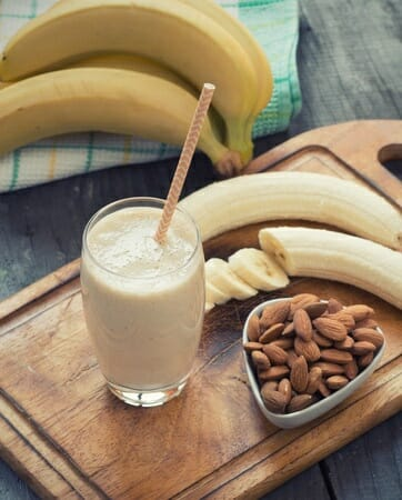 Banana Almond Smoothie online holistic health