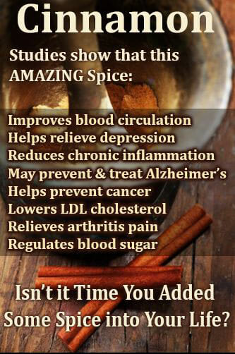 health benefits of cinnamon online holistic health