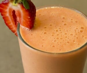 Citrus Berry Immune Boosting Smoothie