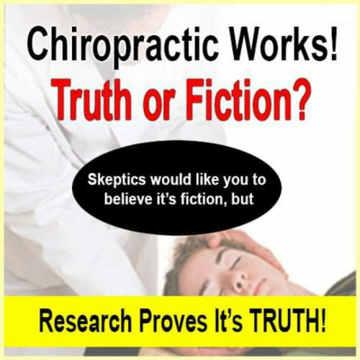 Chiropractic Works! Truth or Fiction online holistic health