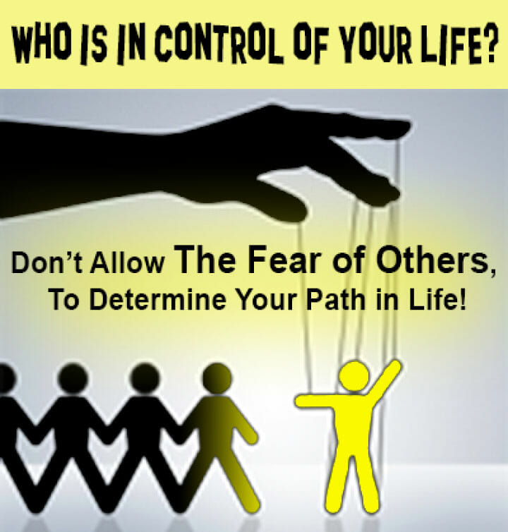 Who's in Control of Your Life?