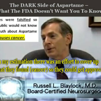 Aspartame causes Brain Tumors