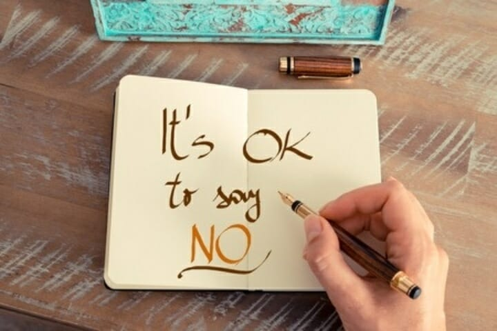 "It's Okay To Say ""NO"" To Others!"